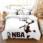 Basketball Nba 4 Duvet Cover Bedding Set