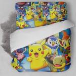 3d Pokemon Collection Bedding Set (Duvet Cover & Pillow Cases)