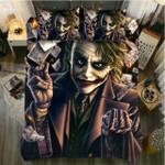 Poker Joker Bedding Set Cover Bedding Set Cover (Duvet Cover & Pillow Cases)