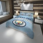 3D Manchester City F.C. Logo We Are The Champions Bedding Set For Fans