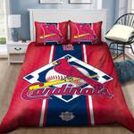 St. Louis Cardinals Bedding Set Sleepy (Duvet Cover & Pillow Cases)