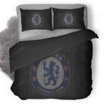 Chelsea Fc Logo Bedding Set (Duvet Cover & Pillow Cases)
