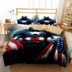"""3d Art Avengers 3 Captain America Patterns Teven """"steve"""" Rogerss 3d Bedding Set (Duvet Cover & Pillow Cases)"""