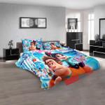 Disney Movies Ralph Breaks The Internet (2018) N 3d Duvet Cover Bedroom Sets Bedding Sets