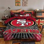 San Francisco 49ers Duvet Cover Bedding Set Dup