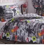 Skateboard Duet Cover Bedding Sets