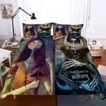 The Nightmare Before Christmas Couple Duvet Cover Bedding Set