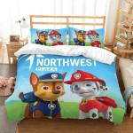 3d Paw Patrol Et Duvet Cover Bedding Set