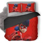Miraculous Tales Of Ladybug And Cat Noir Duvet Cover Bedding Set