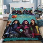 Disney Descendants 3d Poster Bedding Set (Duvet Cover & Pillow Cases)