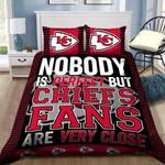 Kansas City Chiefs Gs Duvet Cover Bedding Set