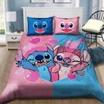 Lilo And Stitch Bedding Set Sleepy (Duvet Cover & Pillow Cases)