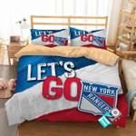 Nhl New York Rangers 1 Logo 3d Duvet Cover Bedding Sets V