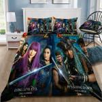 Disney Descendants 2 3d Poster Bedding Set (Duvet Cover & Pillow Cases)