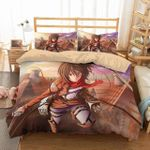 3d Attack On Titan Duvet Cover Bedding Set 1