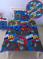 Blaze And The Monster Machines Reversible Duvet Cover Bedding Set