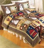 Christmas Snowman Bedding Sets (Duvet Cover & Pillow Cases)