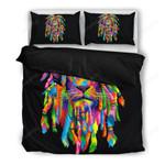 Bedding : Lion Rasta Black (Duvet Cover & Pillow Cases)