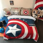 Captain America Luxury Bedding Set (Duvet Cover & Pillow Cases)