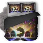 Pac-Man Bedding Set (Duvet Cover & Pillow Cases)