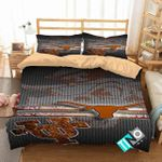 Ncaa Texas Longhorns 2 Logo D 3d Duvet Cover Bedding Sets