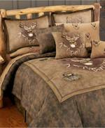Deer Ridge Trading Whitetail Duvet Cover Bedding Set
