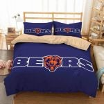 Chicago Bears Iconic Logo Bedding Set (Duvet Cover & Pillow Cases)