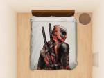 Deadpool Avengers #1703 Bedding Set (Duvet Cover &Amp; Pillowcases)