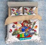 Super Mario Odyssey #8 Duvet Cover Bedding Set