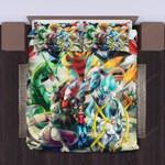 3d Pokemon Legends Bedding Set  (Duvet Cover & Pillow Cases)