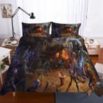 Fortnite Night Theme Digital Printing Households 3d Bedding Set (Duvet Cover & Pillow Cases)