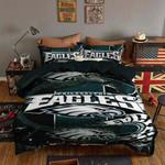3d Philadelphia Eagles Logo Duvet Cover Bedding Set