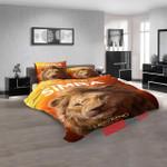 Disney Movies The Lion King (2019) D 3d  Duvet Cover Bedroom Sets Bedding Sets