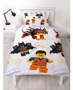 Lego Movie Duvet Cover Bedding Set