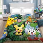 Pokemon Pikachu Duvet Cover Bedding Set