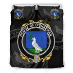 Sheehan Family Crest Shamrock Bedding Set (Duvet Cover & Pillow Cases)