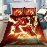 3d The Flash Barry Allen Painting Bedding Set (Duvet Cover & Pillow Cases)