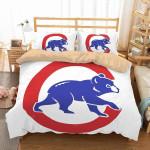 3d Chicago Cubs Duvet Cover Bedding Set