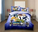 Ben 10 Race Against Time 3d Poster Bedding Set (Duvet Cover & Pillow Cases)