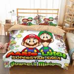 3d Mario & Luigi Duvet Cover Bedding Set