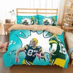 3d Green Bay Packers Duvet Cover Bedding Set