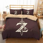 3d The Legend Of Zelda Duvet Cover Bedding Set 2