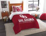 Oklahoma Sooners Bedding Set (Duvet Cover & Pillow Cases)