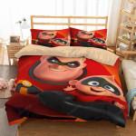 3d Incredibles 2 Duvet Cover Bedding Set 1