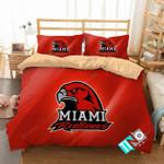 Ncaa Miami Redhawks 1 Logo N 3d Duvet Cover Bedding Sets