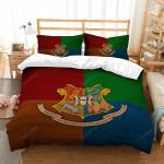 Harry Potter Hogwarts Campus Badge Duvet Cover Bedding Set