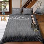 Mk1 Michael Kors Bedding Set (Duvet Cover &Amp; Pillowcases)