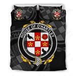 Hartley Family Crest Shamrock Bedding Set (Duvet Cover & Pillow Cases)