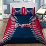 Atlanta Braves Bedding Set (Duvet Cover & Pillow Cases)