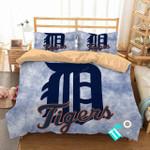 Mlb Detroit Tigers 3 Logo 3d Duvet Cover Bedding Sets